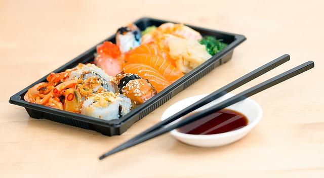 еда японская